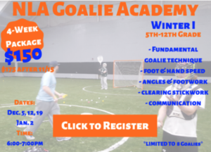 Nex Level Goalie Acad