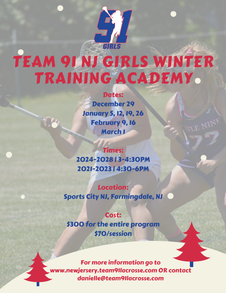 Team 91 NJ Girls Winter Training Academy