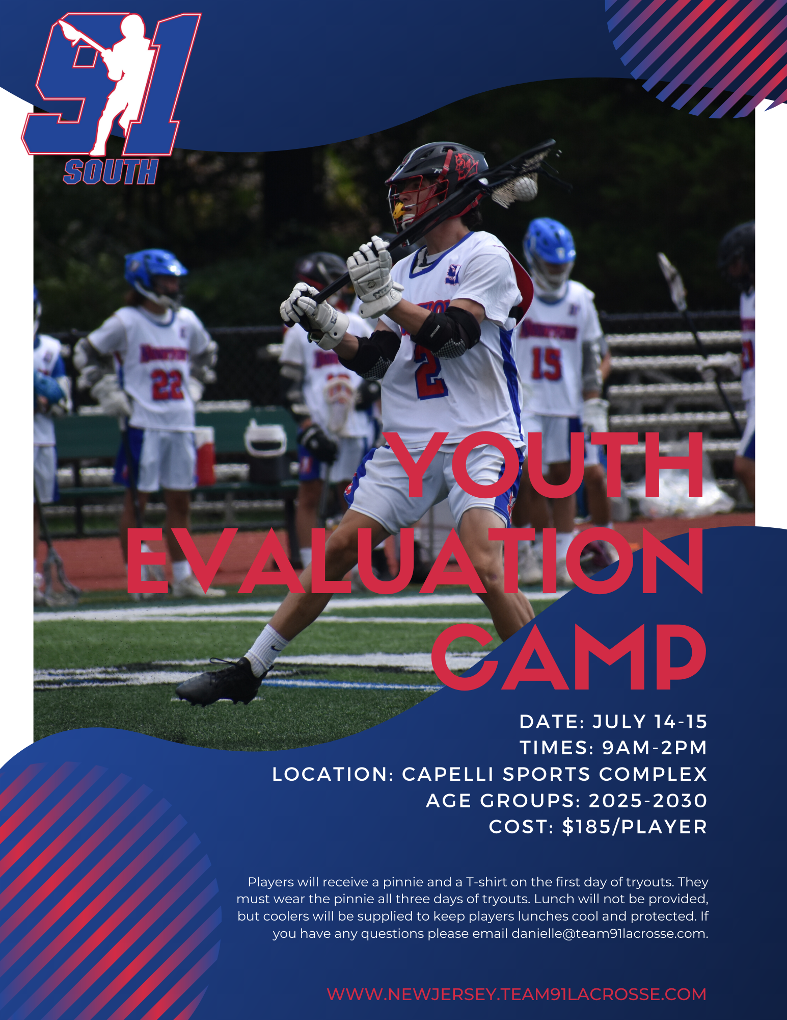 South 2020-2021 Tryout Flyer
