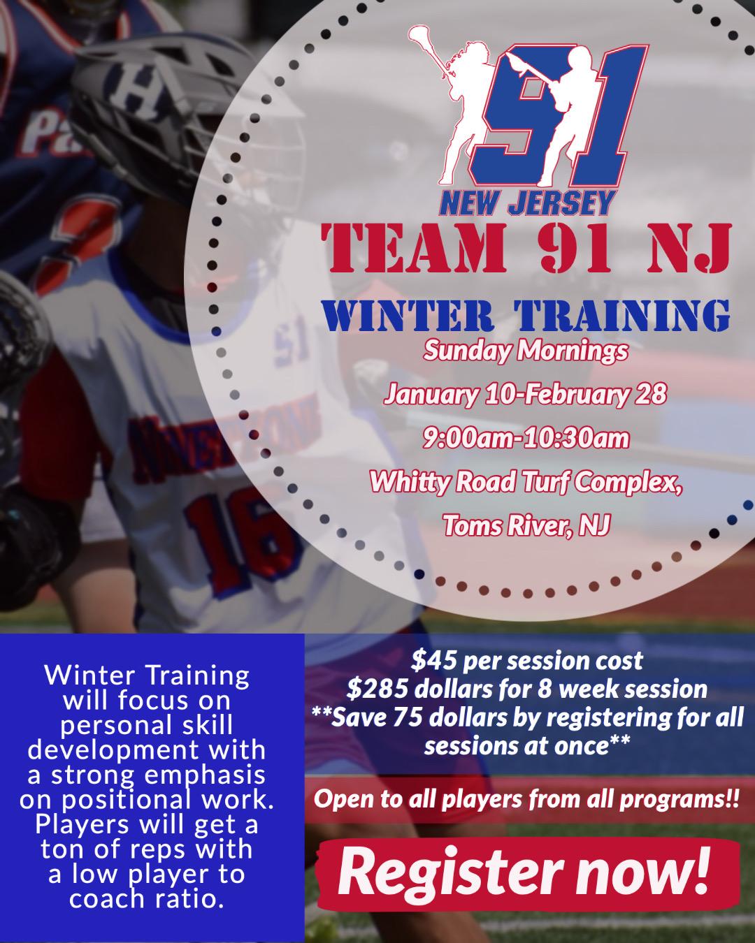 Team 91 NJ Winter Training-5