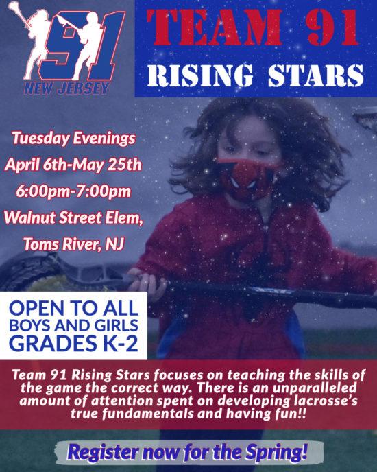 Team 91 NJ Rising Stars Spring