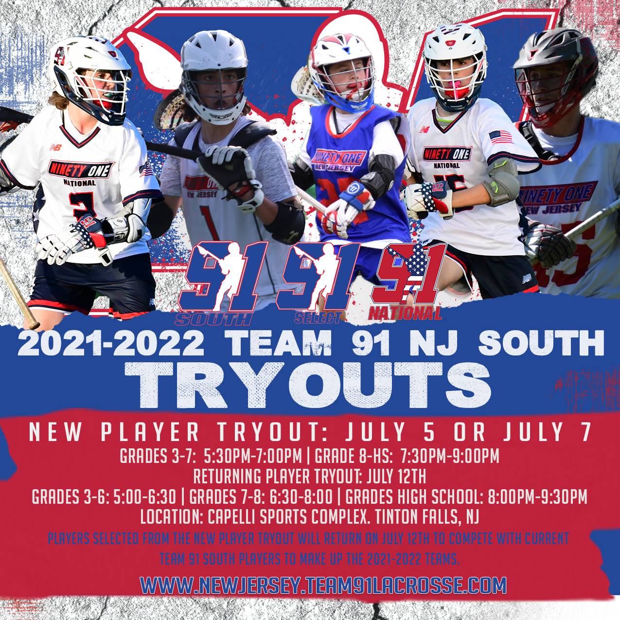 2021-Team91-NJSouth-Boys-Tryouts